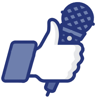 stock-vector-karaoke-like-thumbs-up-symbol-icon-with-microphone-vector-illustration-142418947
